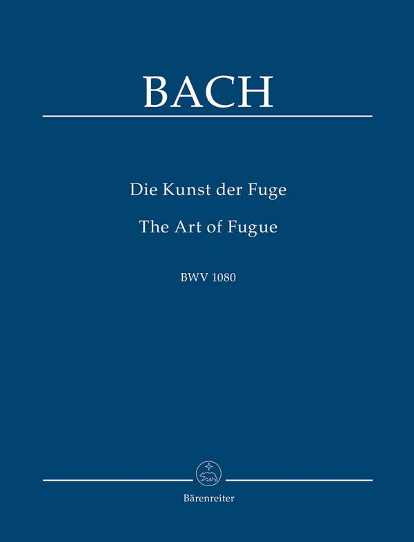 Die Kunst der Fuge BWV1080 Studienpartitur