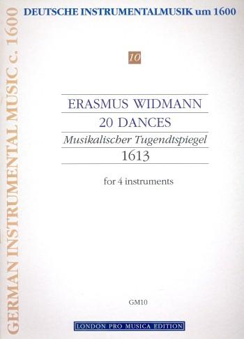 20 Tänze aus Der musikalische Tugendtspiegel: für Instrumente