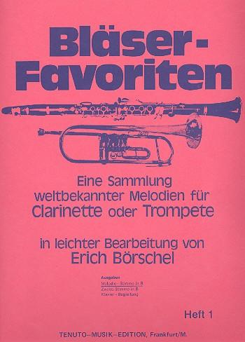 Bläser-Favoriten Band 1: Melodie-Stimme in B