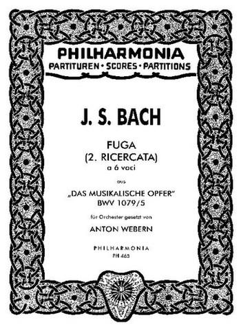 Fuga à 6 voci: für Orchester Studienpartitur