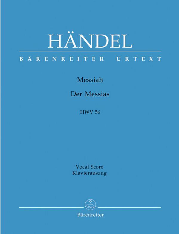 Händel, Georg Friedrich - Der Messias HWV56 : Oratorium