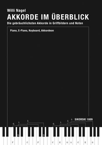 Akkorde im Überblick: Handbuch der gebräuchlichsten Akkorde