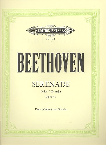 Beethoven, Ludwig van - Serenade op.41 : für