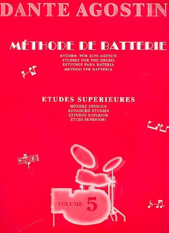Méthode de batterie vol.5: études superieurs