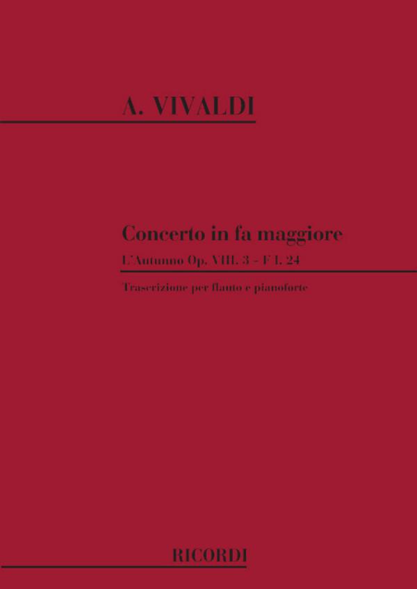Vivaldi, Antonio - Konzert F-Dur RV293 für