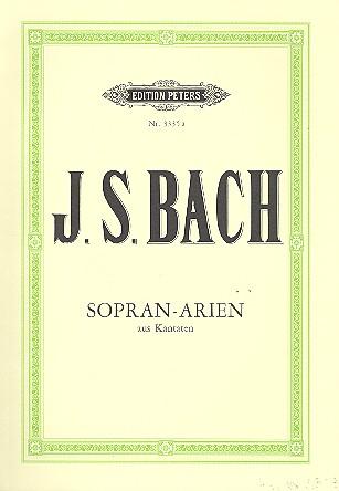 Bach, Johann Sebastian - Arien : für Sopran und Klavier (dt)