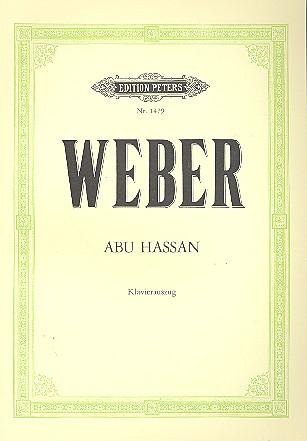 Abu Hassan: Klavierauszug (dt)