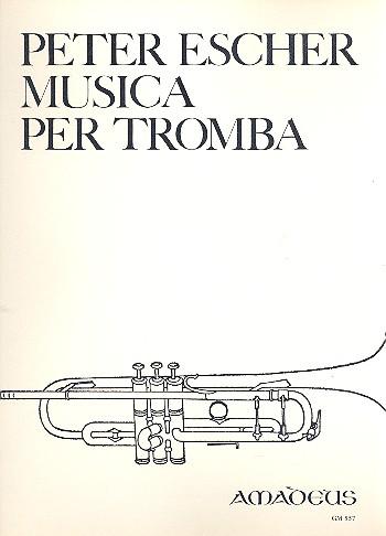 Musica opus.74: für Trompete solo