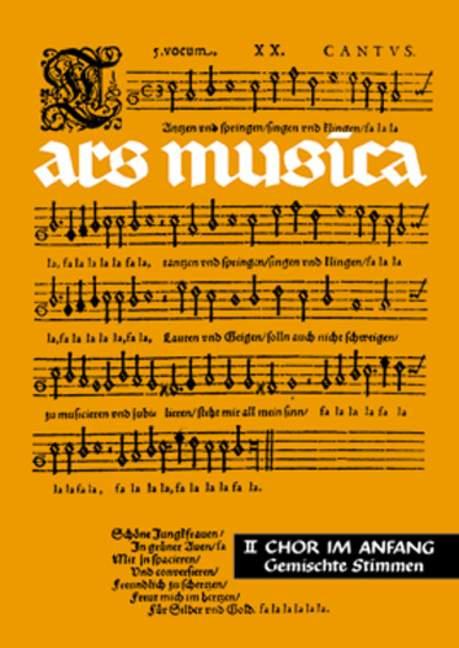 - Chor im Anfang : für gemischte Stimmen