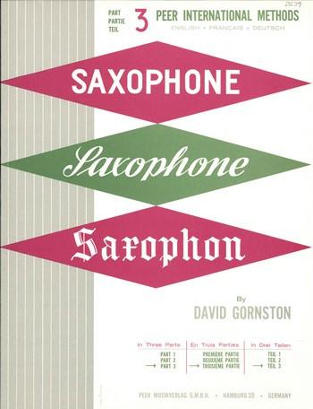 Method for Saxophone vol.3 (fr/en/dt)
