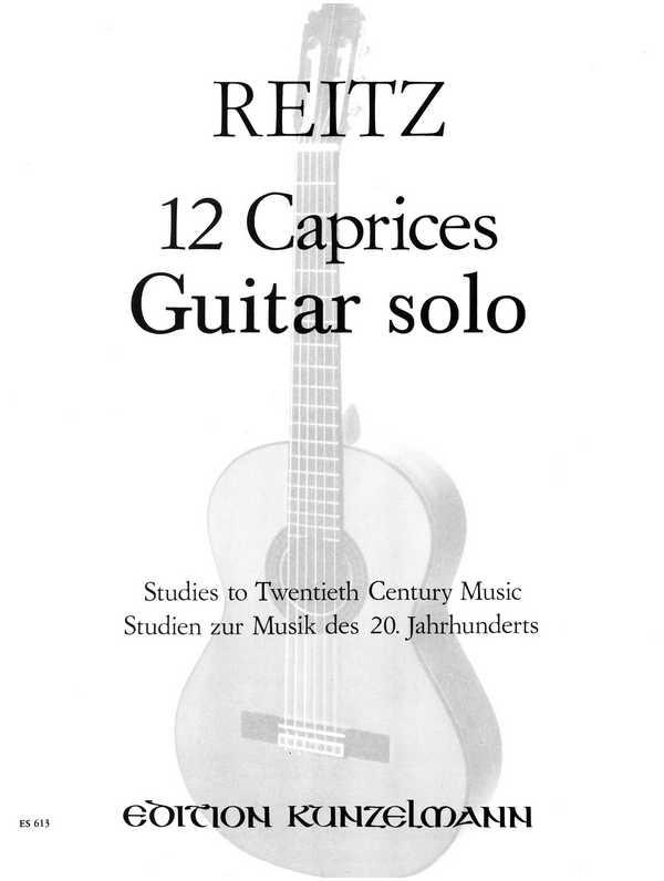 12 Etüden: für Gitarre