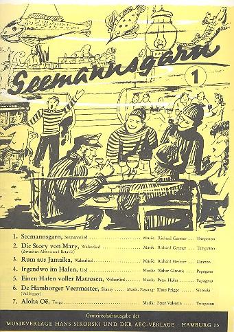 Seemannsgarn Band 1: für Gesang und Klavier