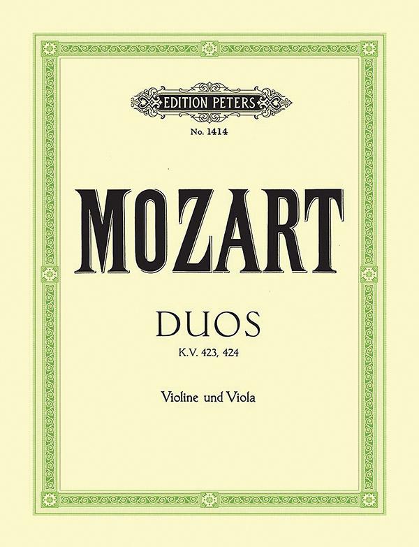2 Duos KV423 und KV424: für Violine und Viola