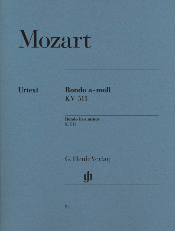 Mozart, Wolfgang Amadeus - Rondo a-Moll KV511 :