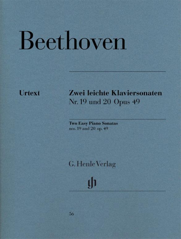 Beethoven, Ludwig van - 2 leichte Sonaten op.49 :