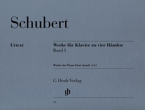 Schubert, Franz - Werke für Klavier zu 4 Händen Band 1