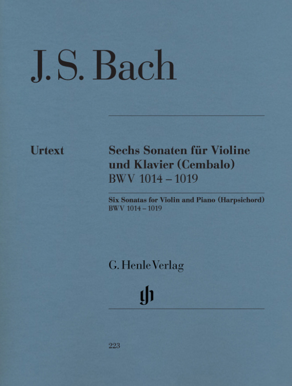 Bach, Johann Sebastian - 6 Sonaten BWV1014-1019 :