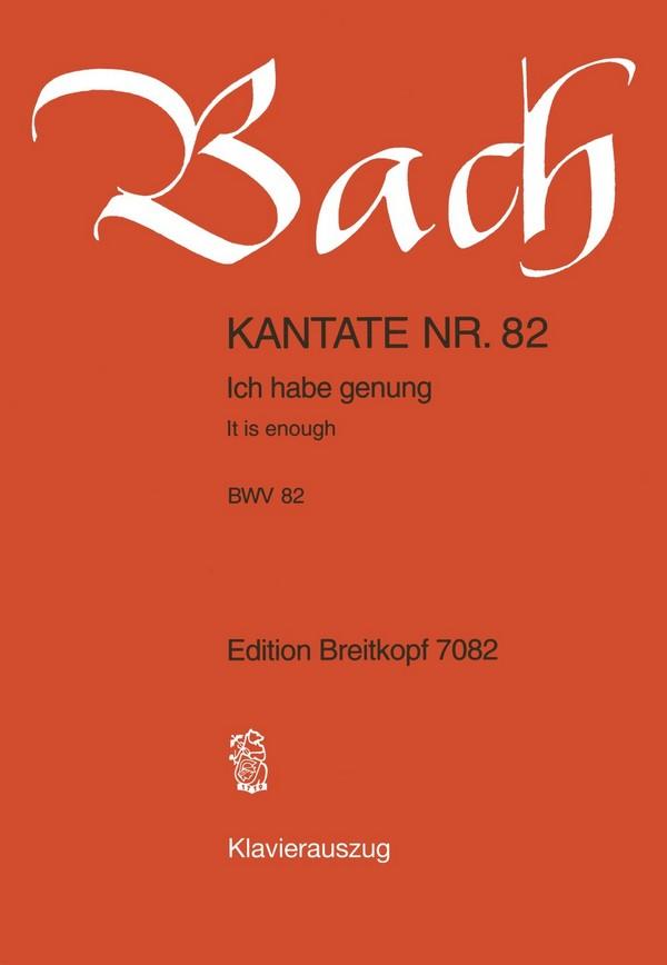 Bach, Johann Sebastian - Ich habe genug :