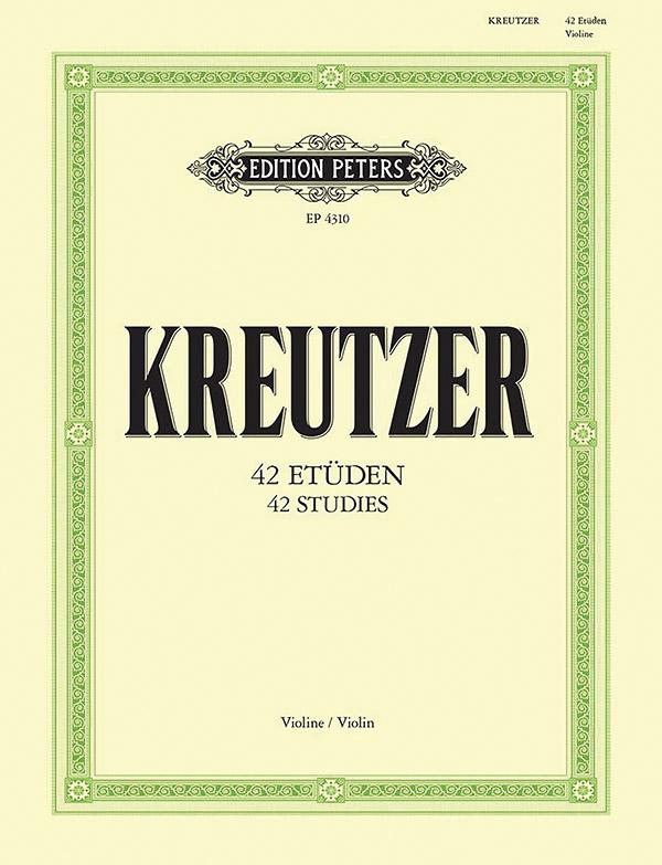 42 Etüden oder Capricen: für Violine