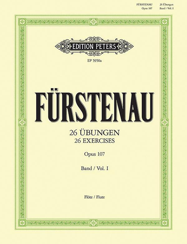 26 Übungen opus.107 Band 1: für Flöte
