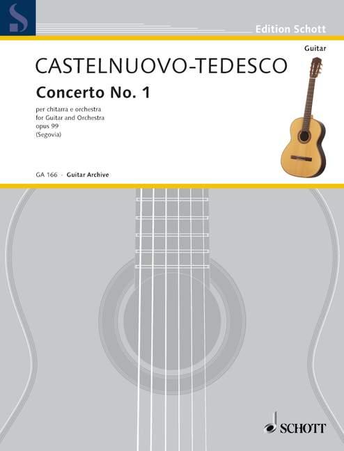 Concerto D-Dur opus.99 für Gitarre und Orchester