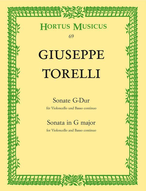 Sonate G-Dur: für Violoncello und Klavier