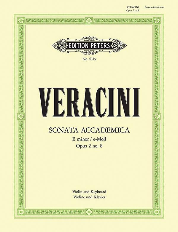 Sonate e-Moll opus.2,8: für Violine und Klavier