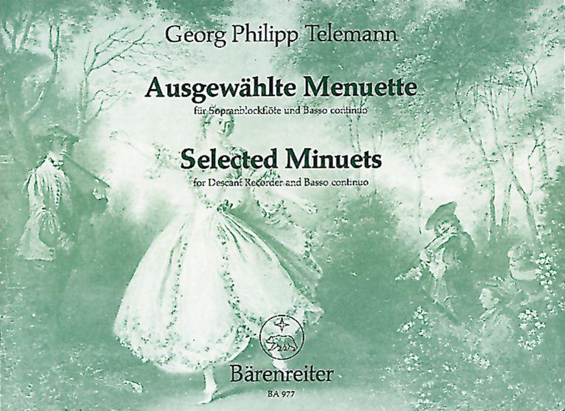 Telemann, Georg Philipp - Ausgewählte Menuette : für