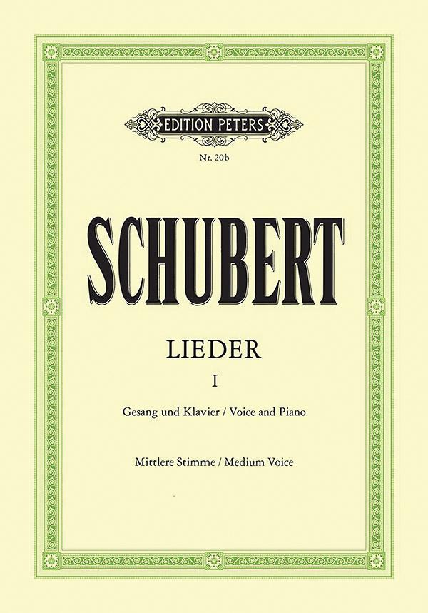 Schubert, Franz - Lieder Band 1 : für Gesang (mittel)