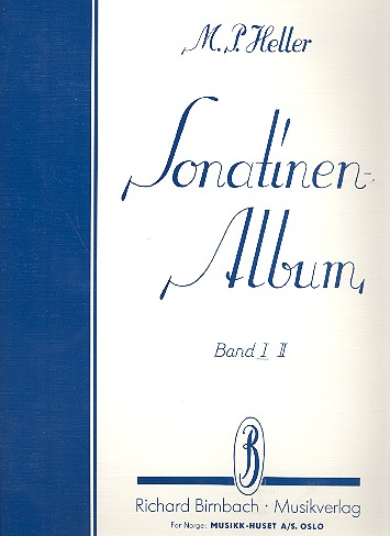 Heller, Max Paul - Sonatinenalbum Band 1 : Sammlung