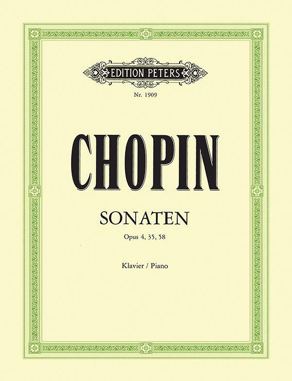 Chopin, Frédéric - Sonaten : für Klavier