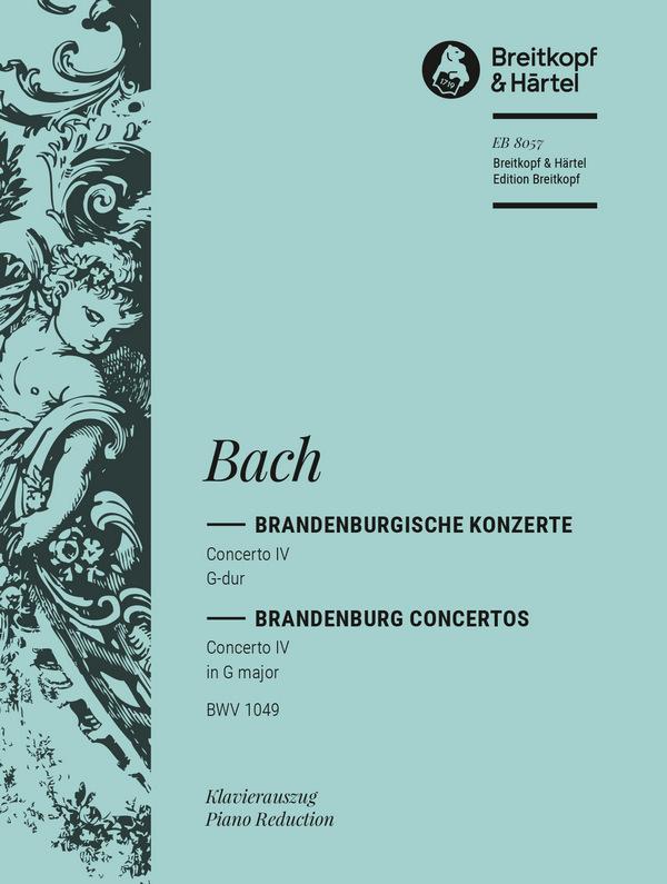 Bach, Johann Sebastian - Brandenburgisches Konzert Nr.4 G-Dur :
