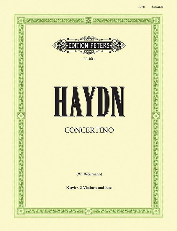 Concertino C-Dur: für Klavier, 2 Violinen und Baß