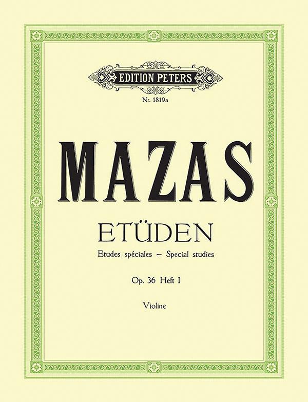Etüden opus.36 Band 1 (Nr.1-30): für Violine
