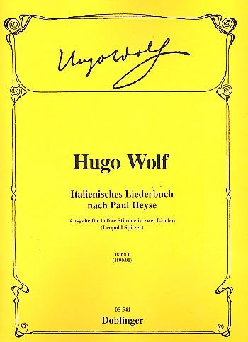 Wolf, Hugo - Italienisches Liederbuch Band 1 :