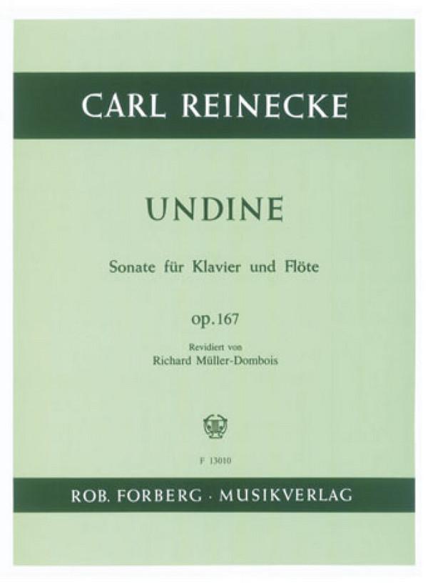 Reinecke, Carl - Sonate op.167 : für Flöte