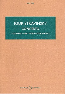 Concerto: for piano and wind instruments, 1924, revised 1950