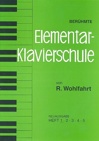 Berühmte Elementar-Klavierschule op.222 Band 1