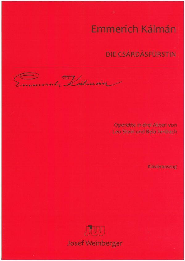 Kálmán, Emmerich - Die Csardasfürstin :