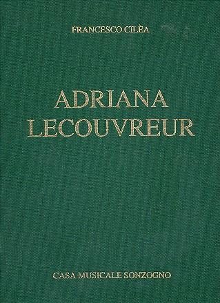 Adriana Lecouvreur: Klavierauszug (it)