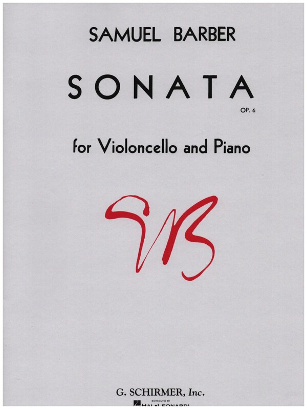 Barber, Samuel - Sonata op.6 :