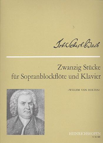 20 Stücke: für Sopranblockflöte und Klavier