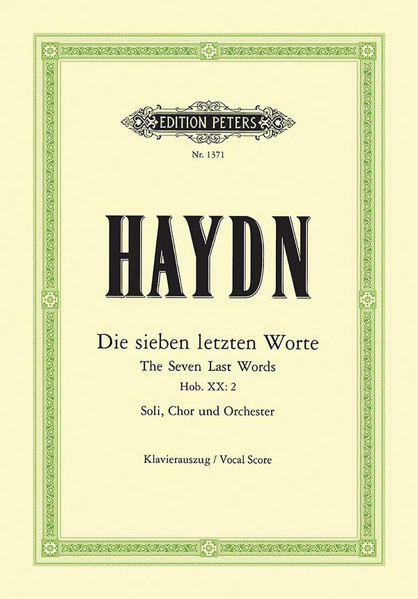 Haydn, Franz Joseph - Die sieben letzten Worte Hob. XX:2 :