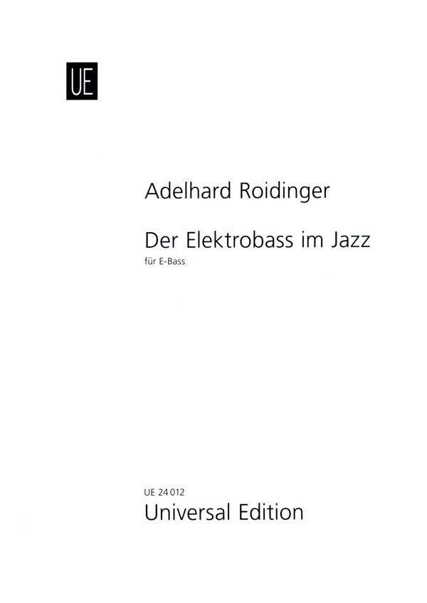 Schule für Jazz-E-Baß