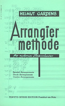 Arrangier-Methode für modernes Tanzorchester