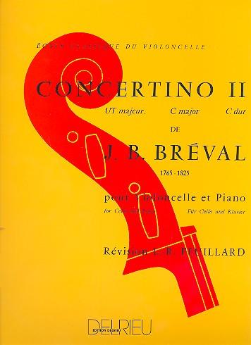 Bréval, Jean Baptiste - Concertino ut majeur no.2 :