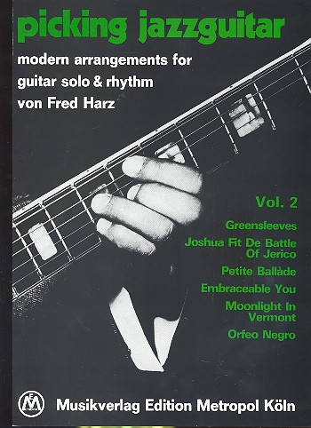Harz, Fred - Picking Jazzguitar vol.2 : Modern