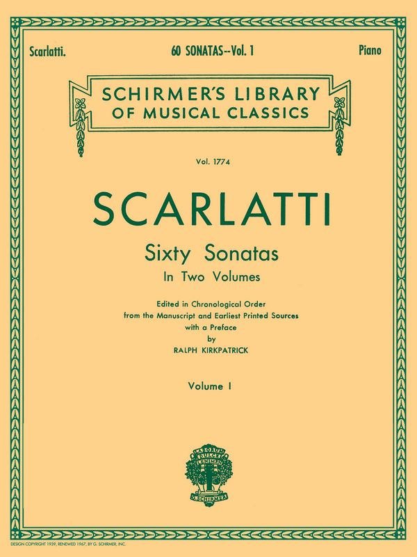 Scarlatti, Domenico - 60 Sonatas vol.1 (nos.1-30) : for piano