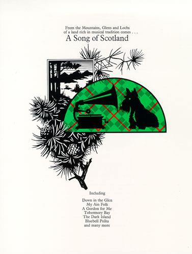 A Song of Scotland: Songbook for piano/vocal/guitar