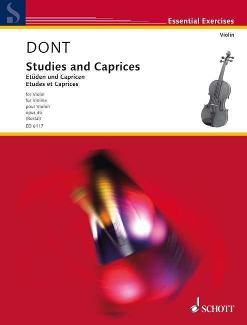 Etüden und Capricen op.35: für Violine